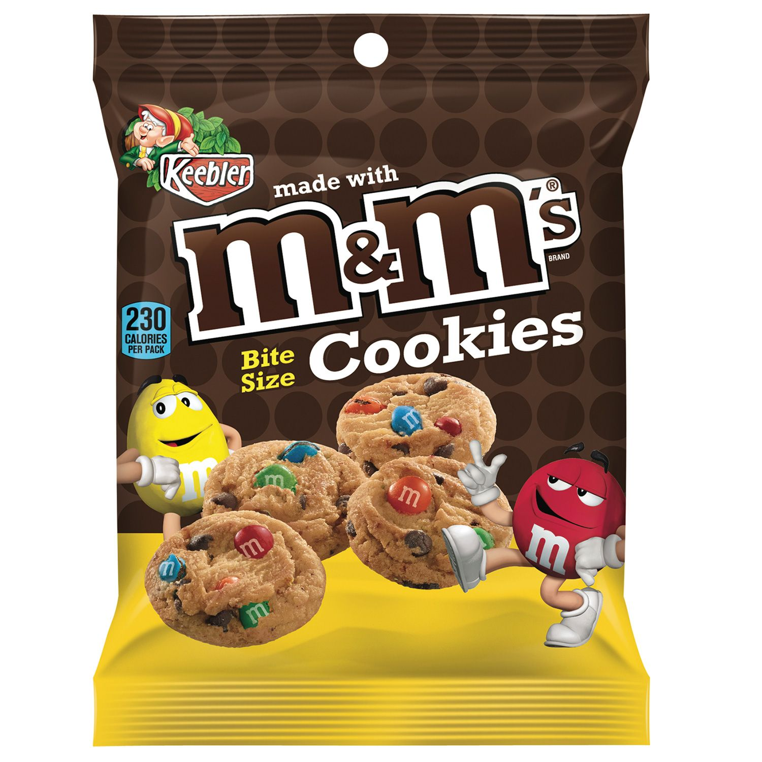 M&M cookies bite size