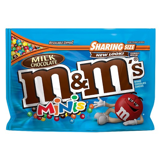 M&M Milk chocola minis - Sharing size