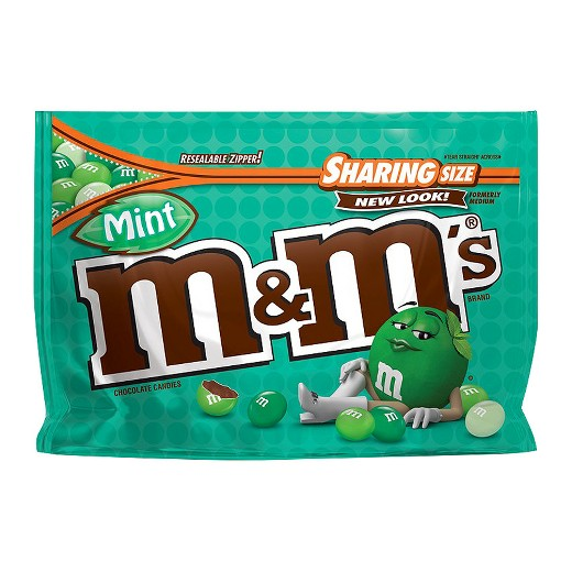 M&M mint - Sharing size
