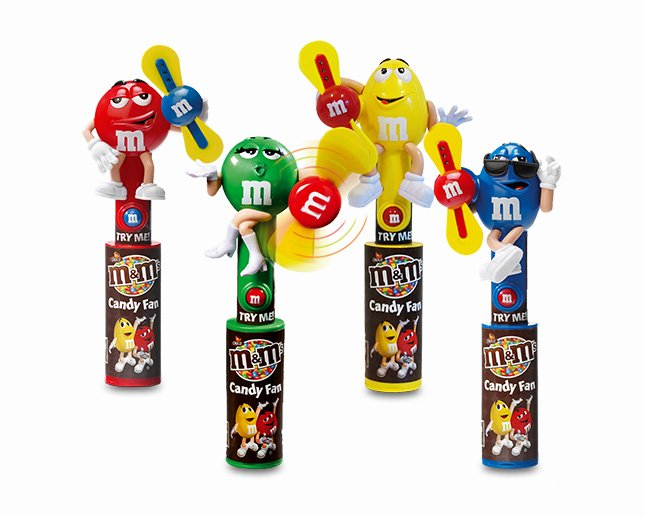 Candy Fan M&M