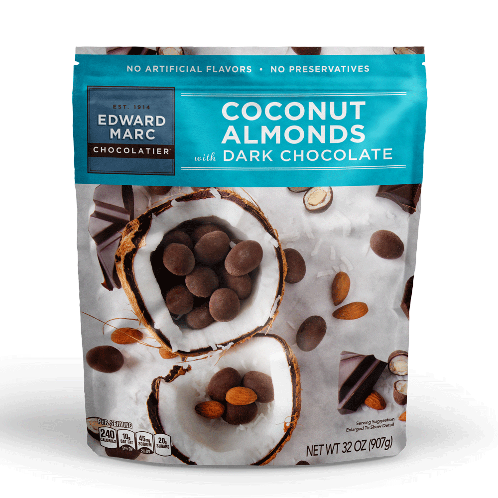 Coconut Almonds Dark Cho