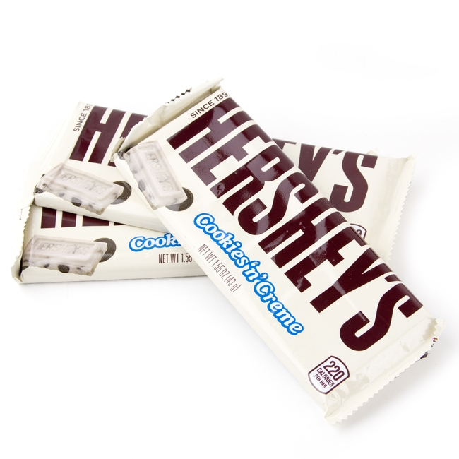 Hersheys Cookies n Cream Bars