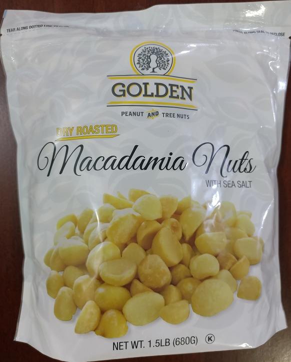 Golden Macadamia Nuts
