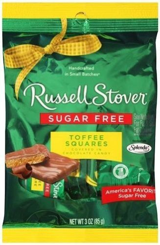 Russell Stover -Toffee Squares (sugar free)
